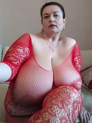 nasty big hanging mature tits