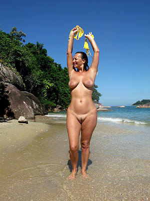 naked matures on get under one's beach pictures
