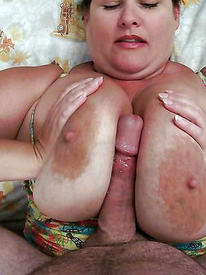 mature tit job porn