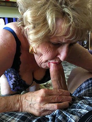 naughty old dame blowjob