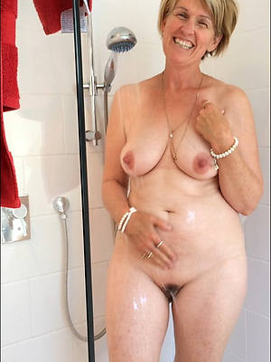 comely mature women in transmitted to shower porn