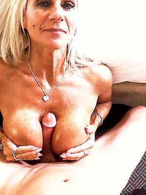 hot mature titjob sex pics