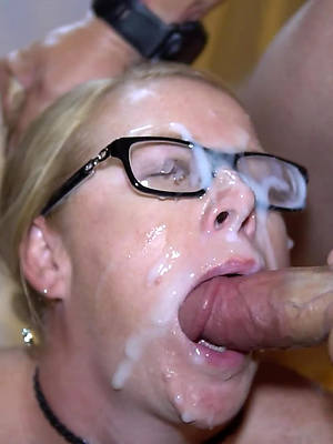 well done sexy mature facial gallery