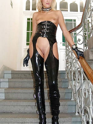 spectacular hot matures in latex free photo