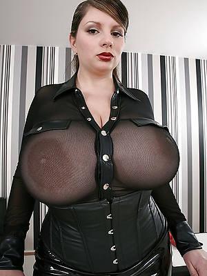 hot mature upper classes in latex porn