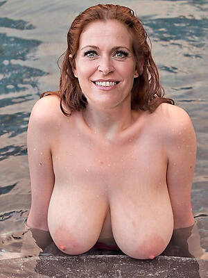 mature gentry nearly big boobs photo