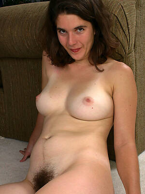 free pics of sexy elfin mature brunette