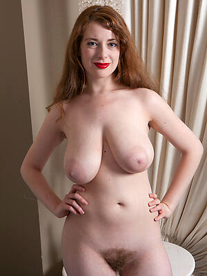 unconforming pics of real down in the mouth mature older women lay bare