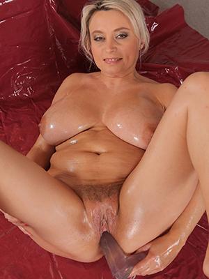beautiful mature mom masturbating photo