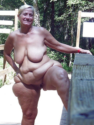 hot sexy old fat women pussy