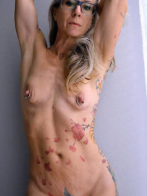 incomparable tattoos on old naked women