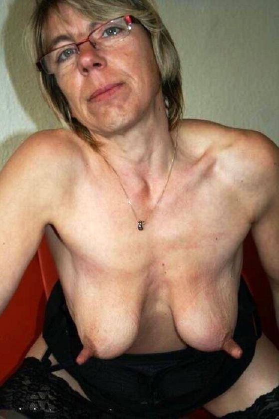 Mature Blonde Big Nipples