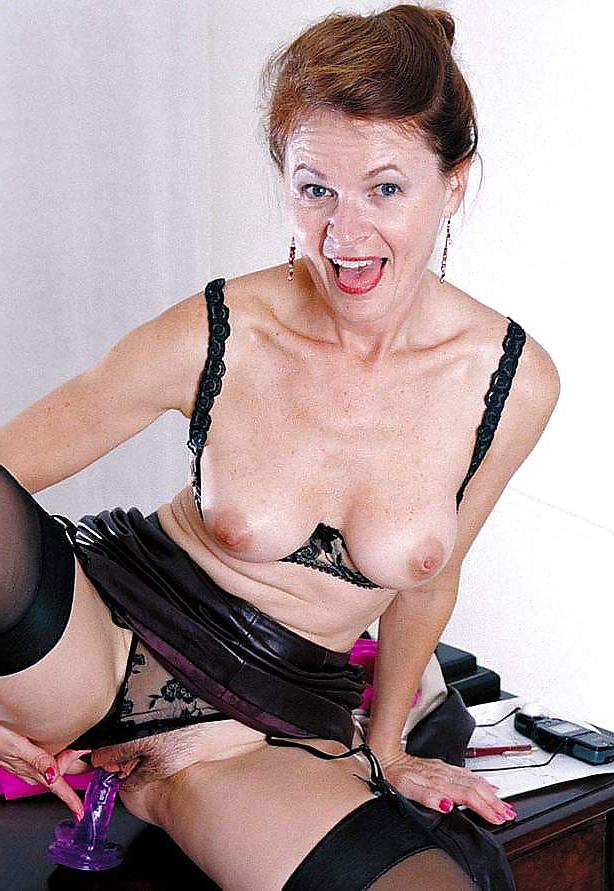 Horny old women