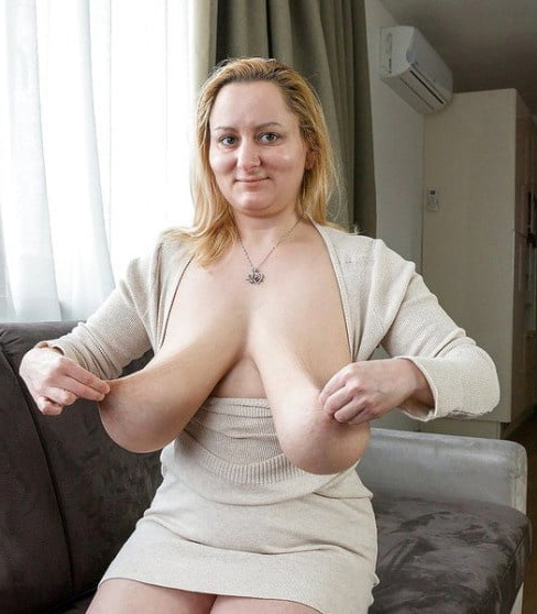 Saggy Tits Mature Fucked