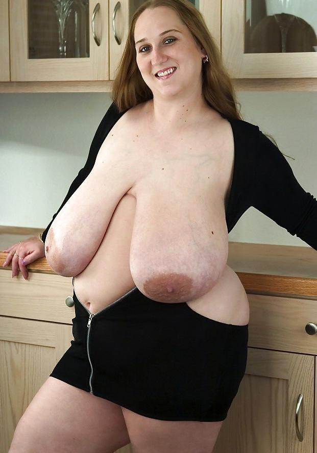 XXX photo huge old floppy tits