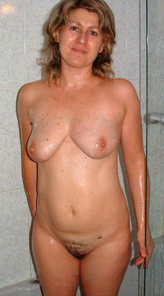 Ebony Bbw Mature Shower