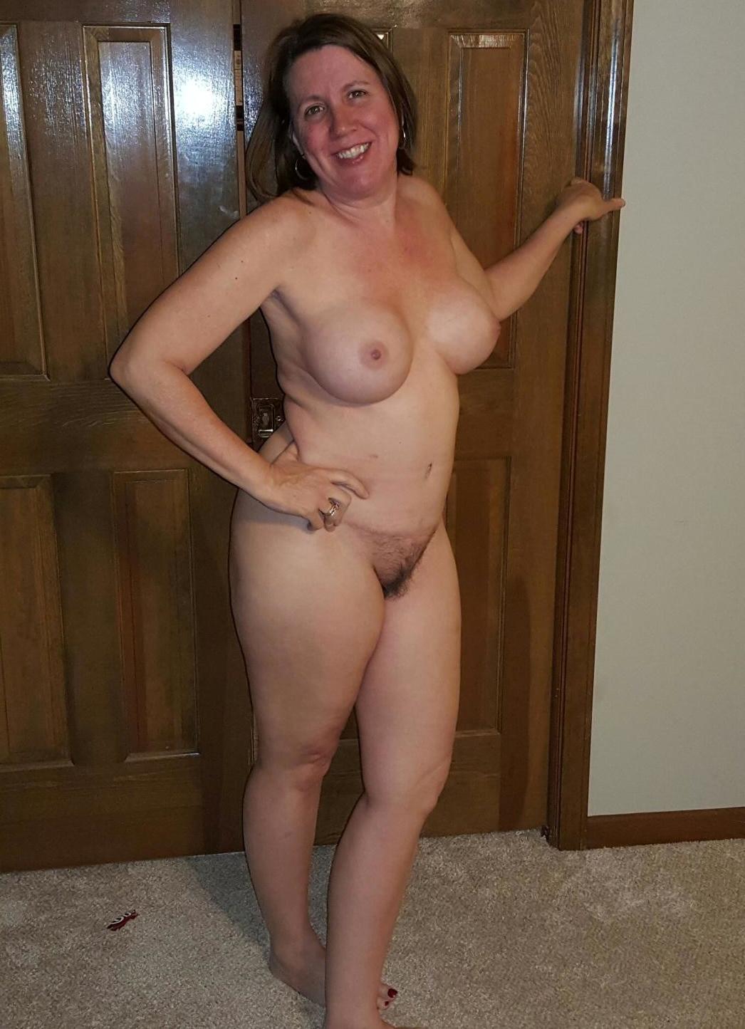 Clothed like man nude woman