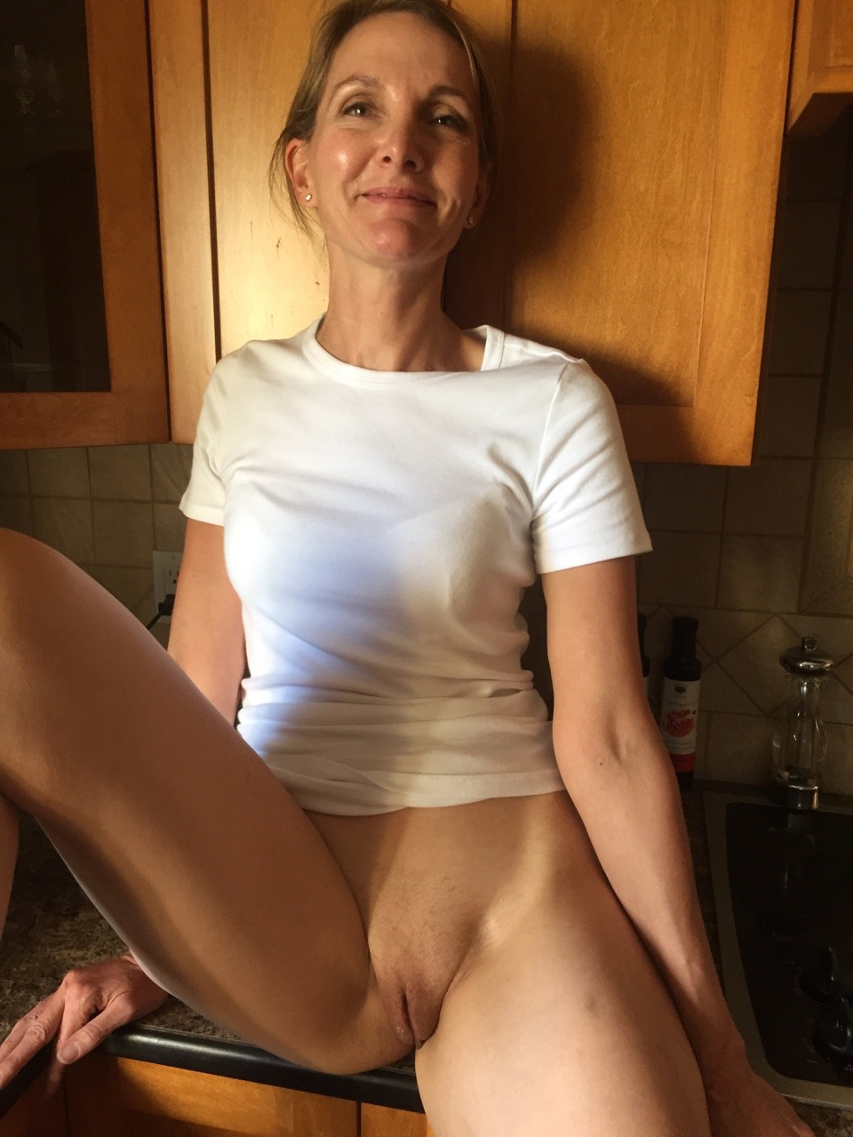 Large naked female breasts