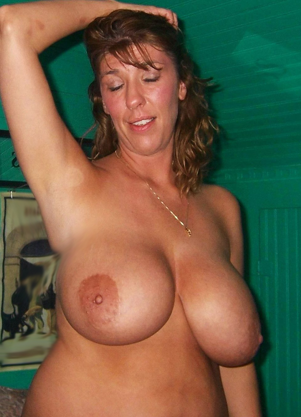 Amateur Wife Big Tits Facial