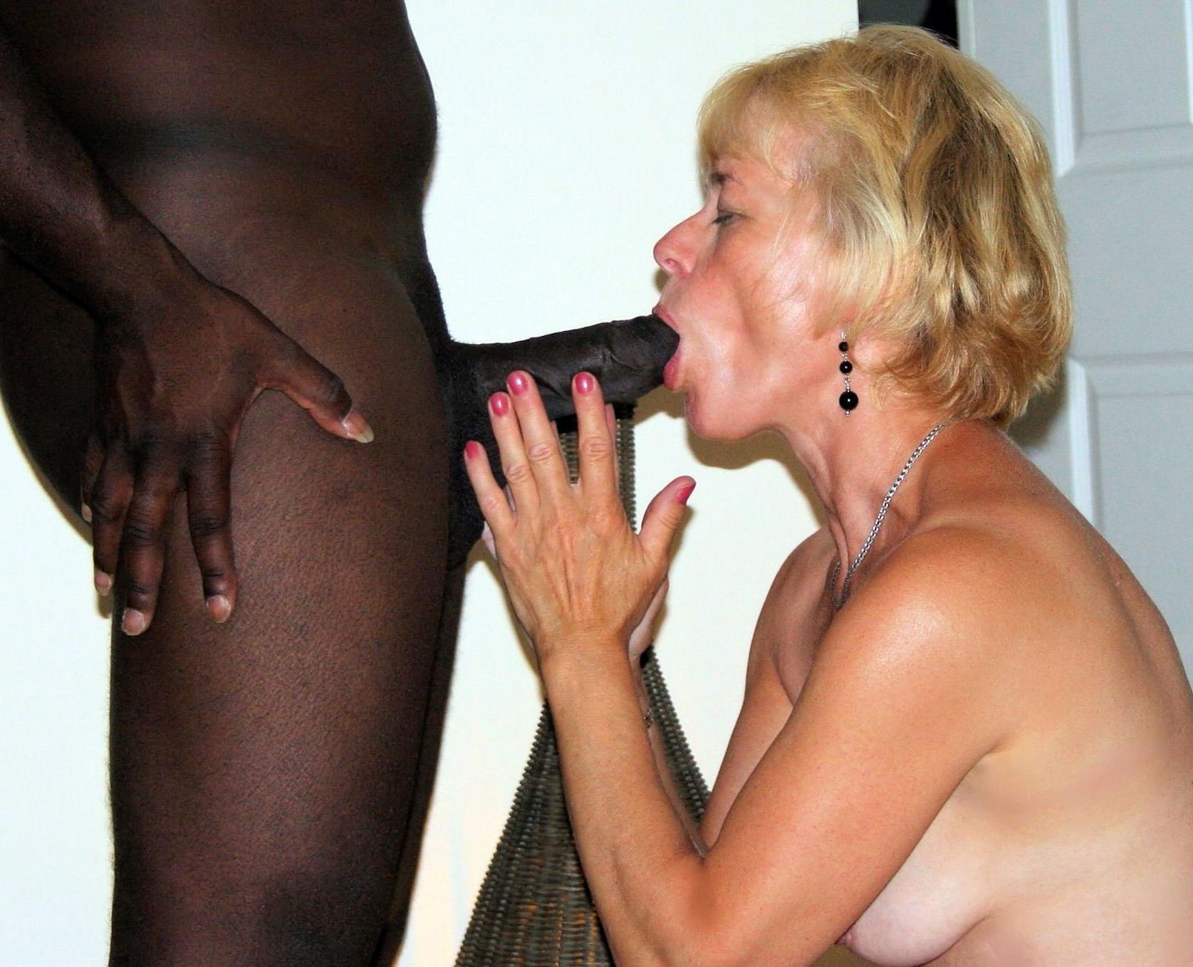 Interracial Mature Granny