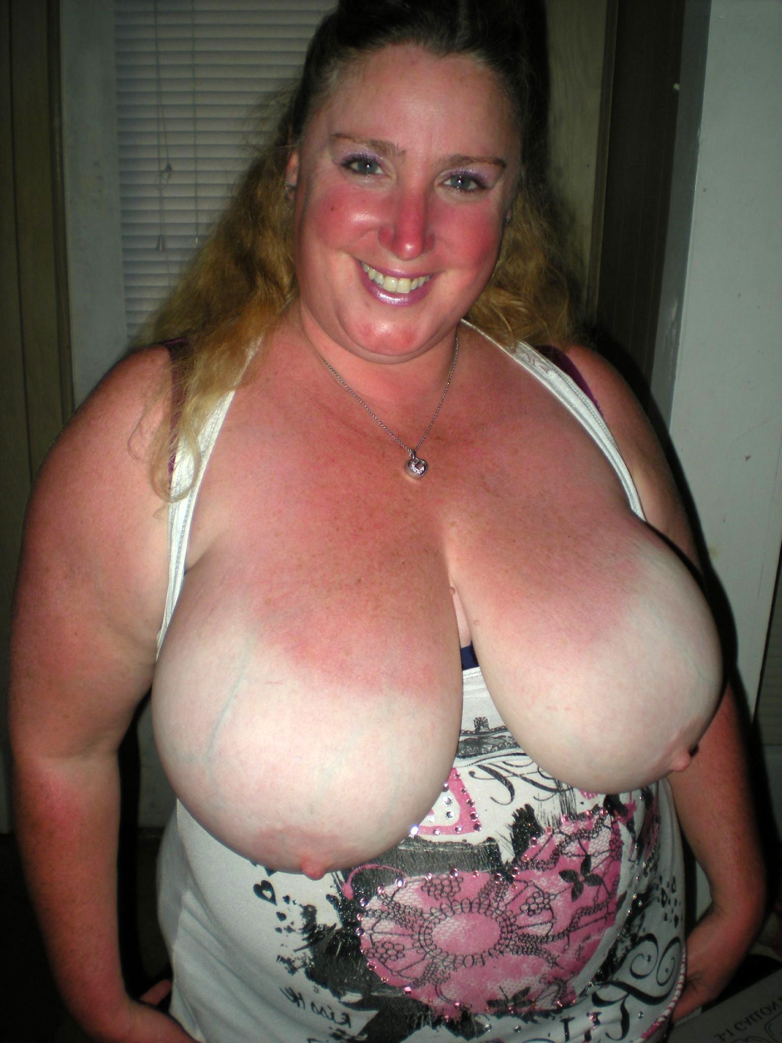 Nude mature boobs