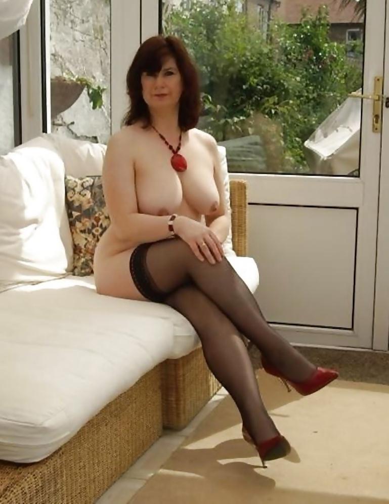 Mature in stocking pics