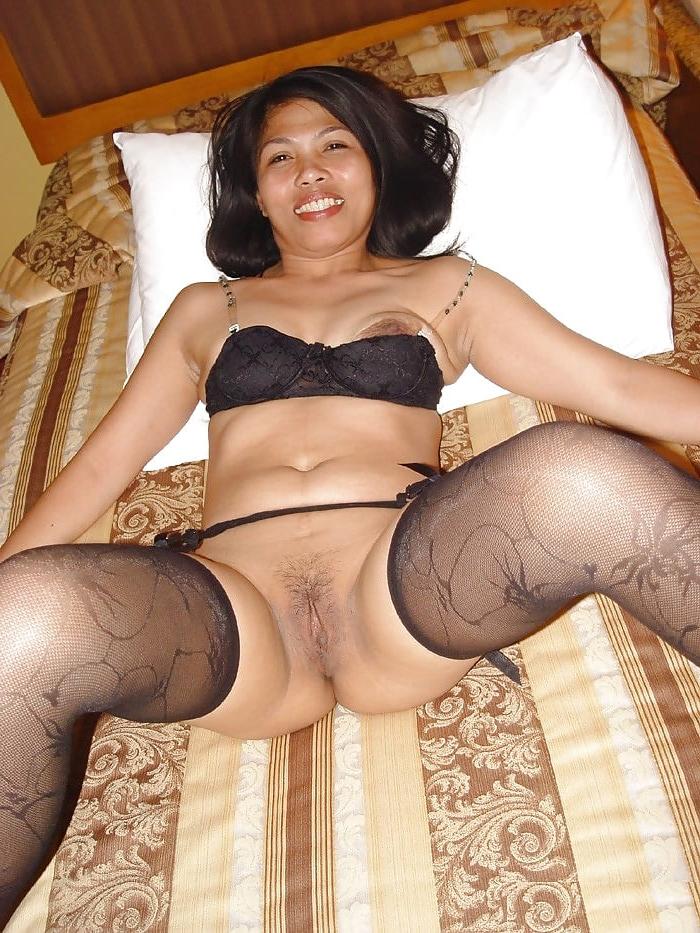 Older Mature Asian In Black Stockings Posing You Porn 1